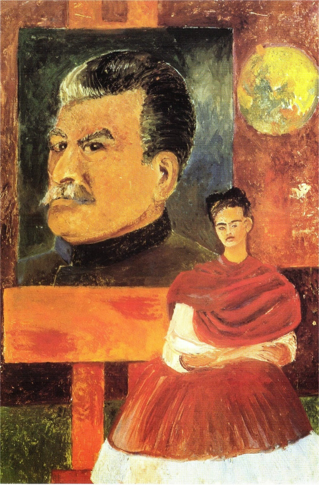 Frida Kahlo - Stalin